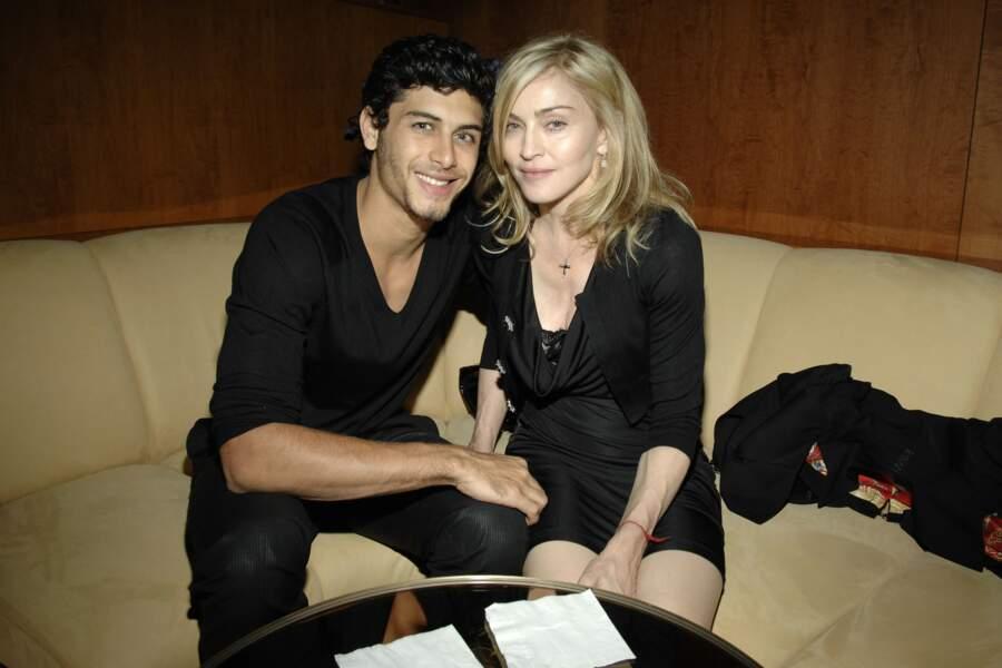 Jesus Luz et Madonna à New York en 2009