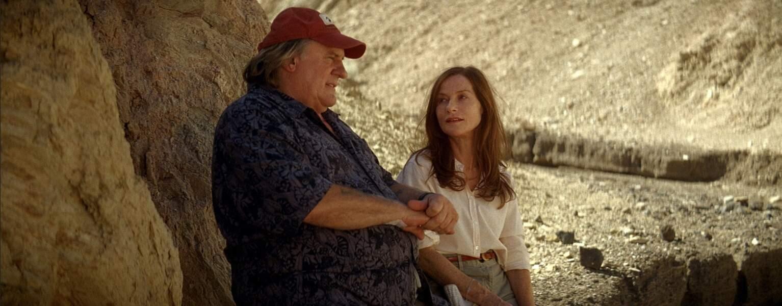 """Gérard Depardieu retrouve Isabelle Huppert dans """"Valley of love"""", en 2015"""
