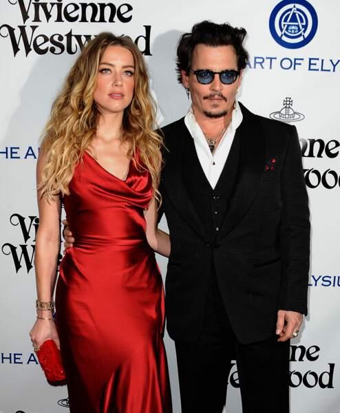 Le divorce de Johnny Depp et Amber Heard reçoit la palme de la séparation la plus médiatisée de 2016
