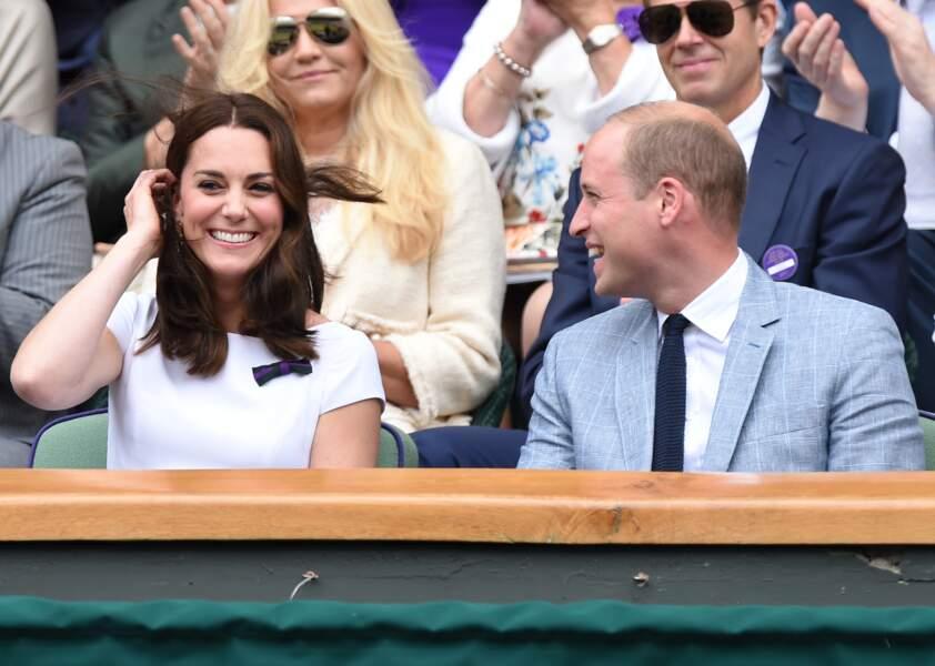 Pour une fois, Kate et William n'étaient pas accompagnés de leurs enfants
