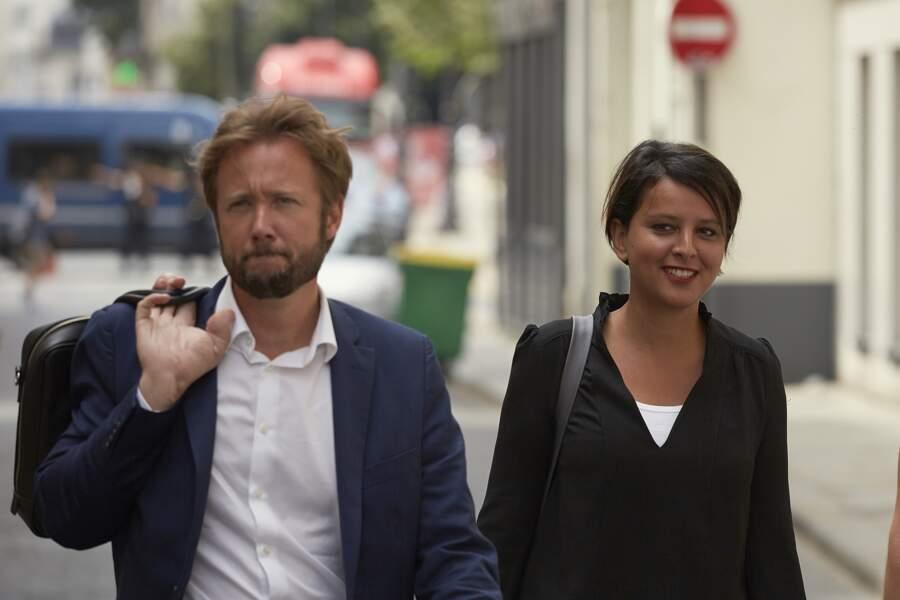 Najat Vallaud-Belkacem souriante malgré la défaite aux Législatives et son mari Boris Vallaud