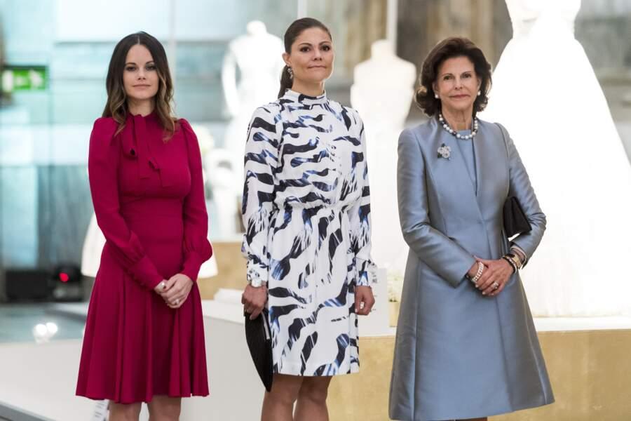 Trois femmes, deux générations et un même sens de l'élégance