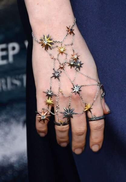 Un bijou étoilé pour l'actrice d'Interstellar