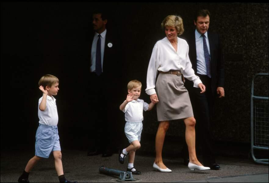 Naissance de la Princesse Béatrice, le 10 août 1988