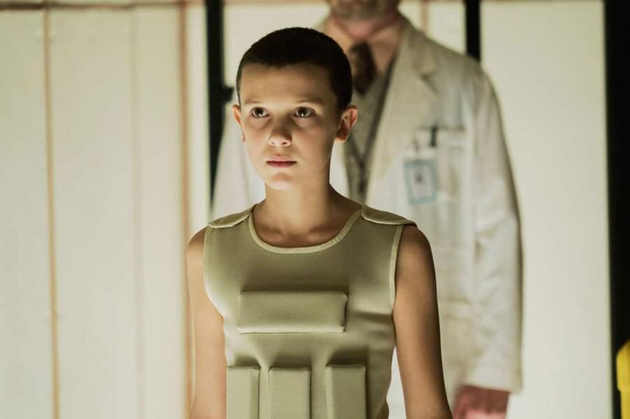 """Millie Bobby Brown, révélation de la série de Netflix """"Stranger Things"""" dans le rôle d'Eleven"""