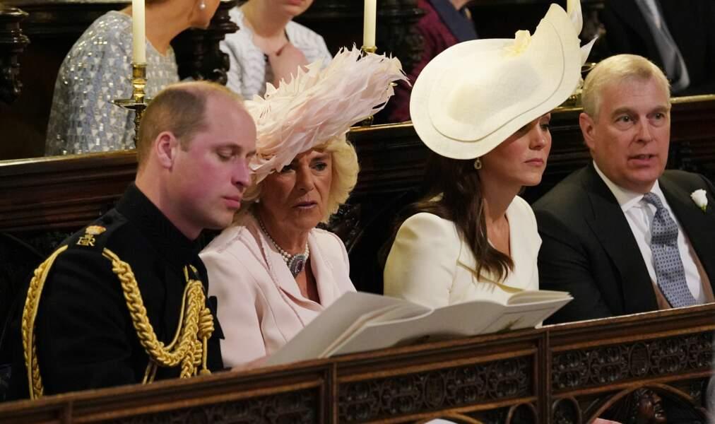 Le prince William, duc de Cambridge Camilla Parker Bowles, duchesse de Cornouailles, Catherine (Kate) Middleton