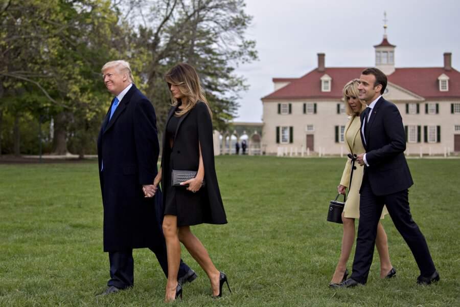 Le président de la République française effectue une visite de trois jours.