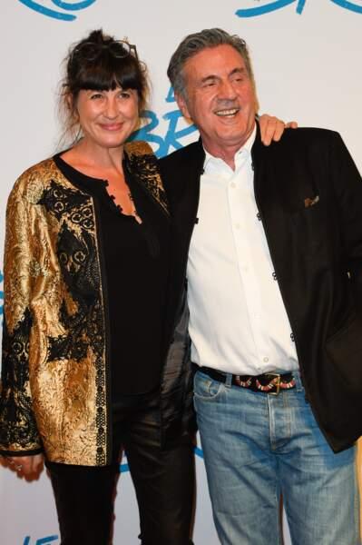 Daniel Auteuil et sa femme Aude Ambroggi en 2017