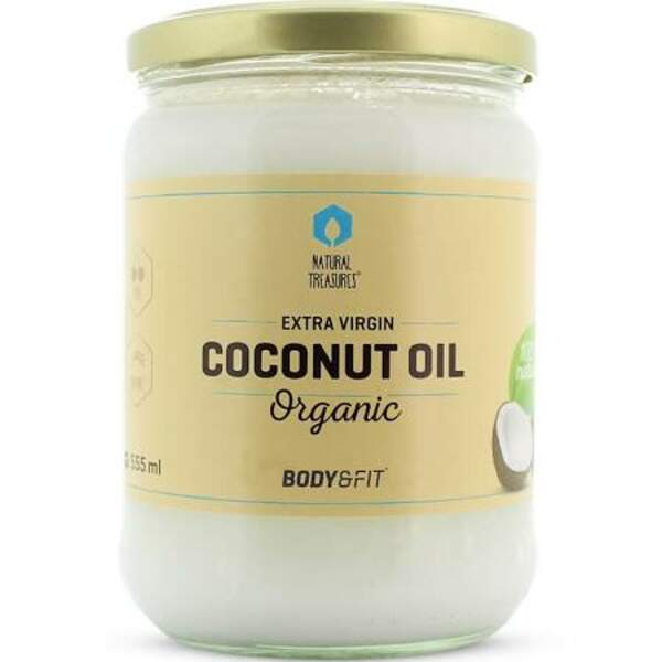 Huile de Coco Extra Vierge, Body & Fit Organic, 5,90€