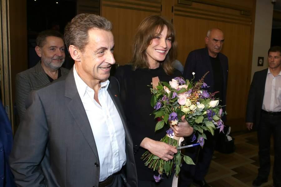 Nicolas Sarkozy, premier fan de Carla Bruni-Sarkozy, ne rate jamais ses concerts