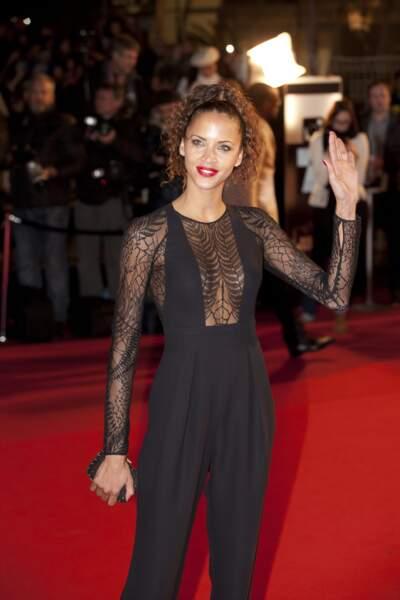 Noémie Lenoir lors de la 15ème édition des NRJ Music Awards à Cannes, le 14 decembre 2013