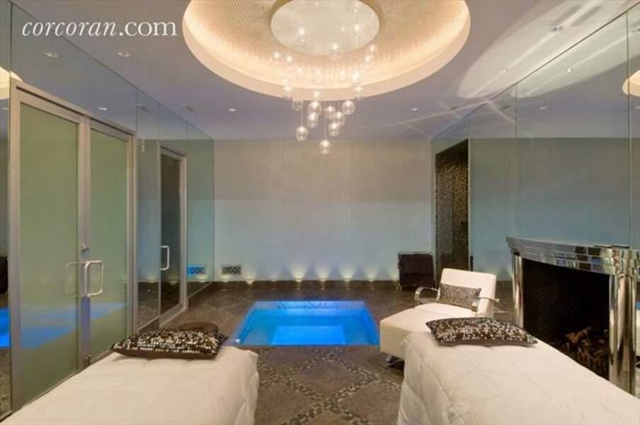 Spa avec hamma, jaccuzzi, sauna et salle de massage