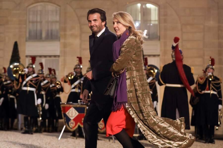 Yannick Bolloré et Sibyle Veil étaient également conviés au dîner d'état organisé en l'honneur du président chinois