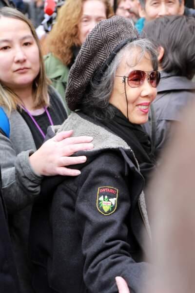 Kuelan Nguyen, la mère de Kên Higelin, à l'hommage à Jacques Higelin