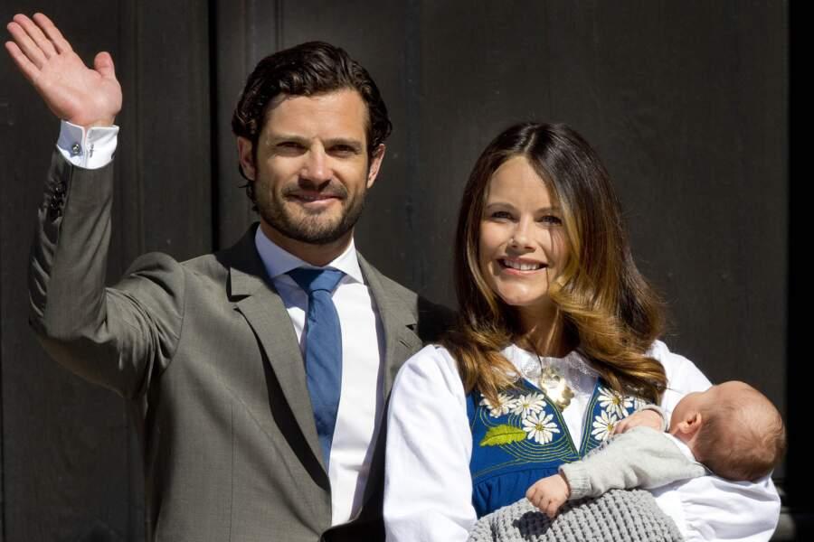 Prince Carl Philip de Suède