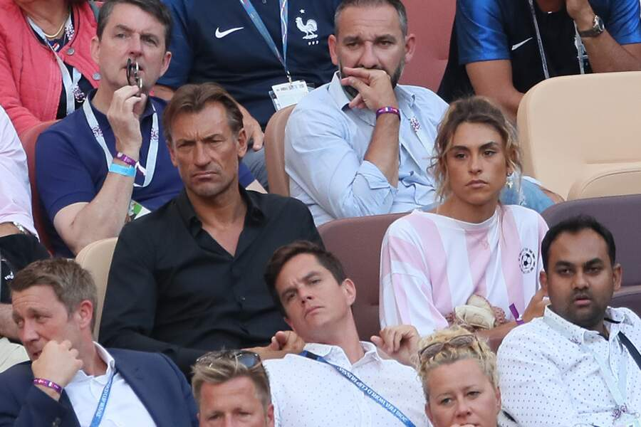 Hervé Renard et sa fille Candide Renard le 26 juin 2018