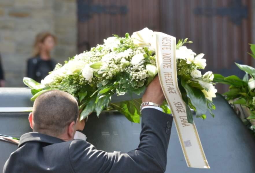 Obsèques de la chanteuse belge Maurane à l'église Notre Dame des Grâces