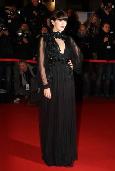 Nolwenn Leroy lors de la 14ème édition des NRJ Music Awards au Palais des Festivals à Cannes le 26 Janvier 2013