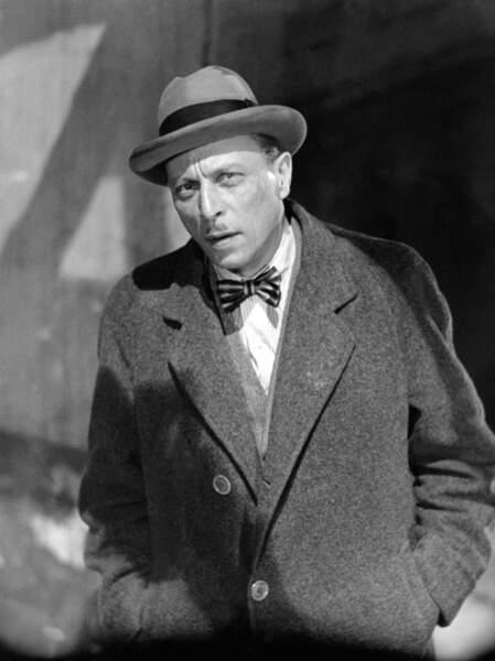 Le comédien Louis Jouvet (décédé le 16 août 1951)