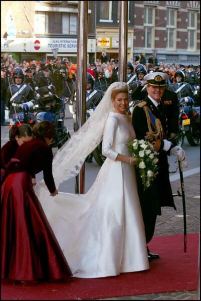 Mariage du Prince Willem-Alexander des Pays-Bas et de Maxima Zorreguieta en 2002