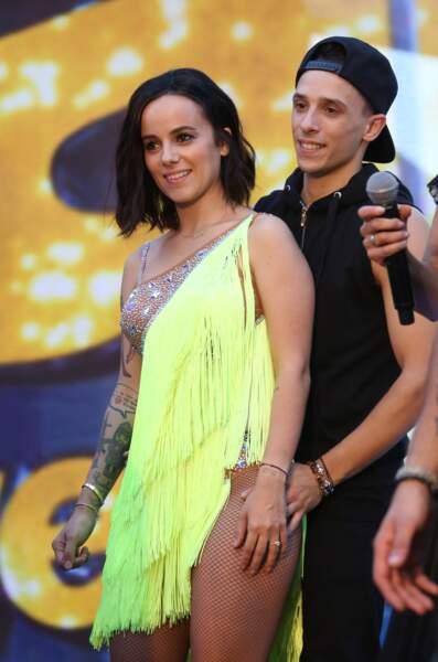 """La chanteuse Alizée, gagnante de la quatrième saison de """"Danse avec les Stars"""", en 2013"""