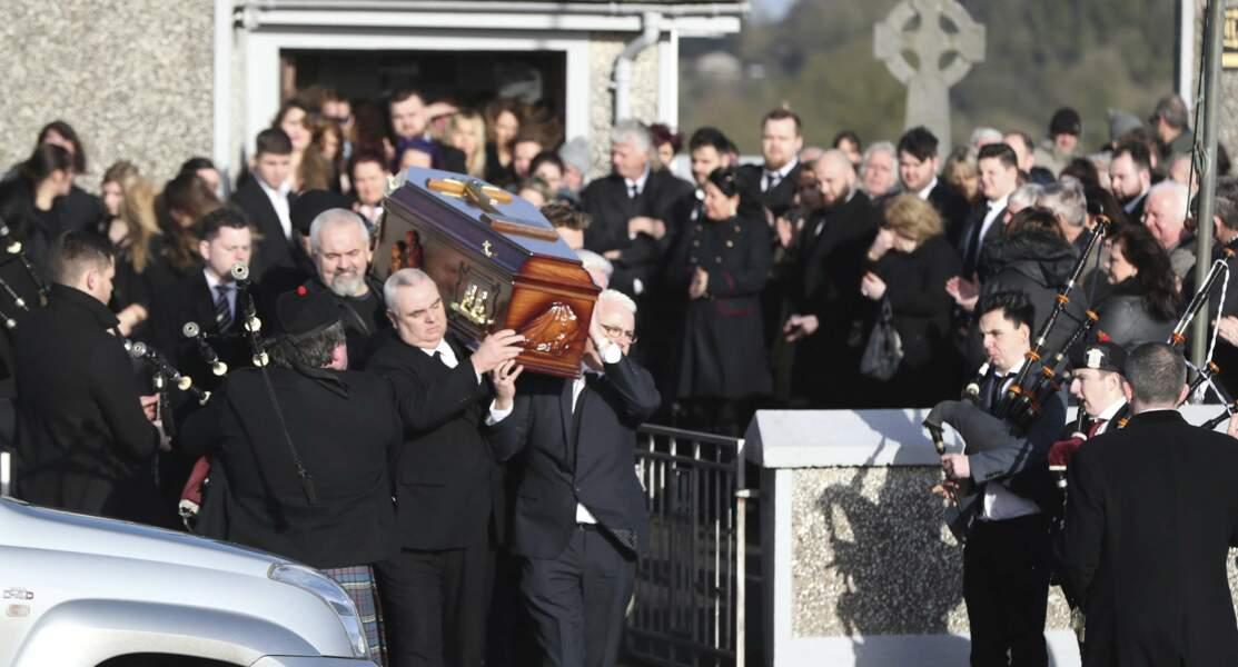 Obsèques de Dolores O'Riordan