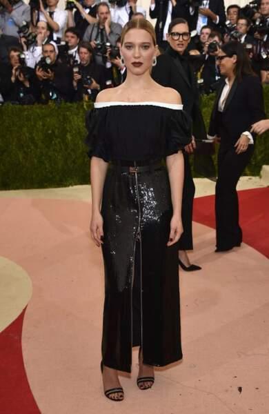 Léa Seydoux en Louis Vuitton