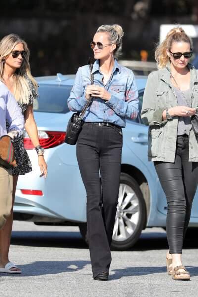 Laetitia Hallyday et ses amies à Los Angeles