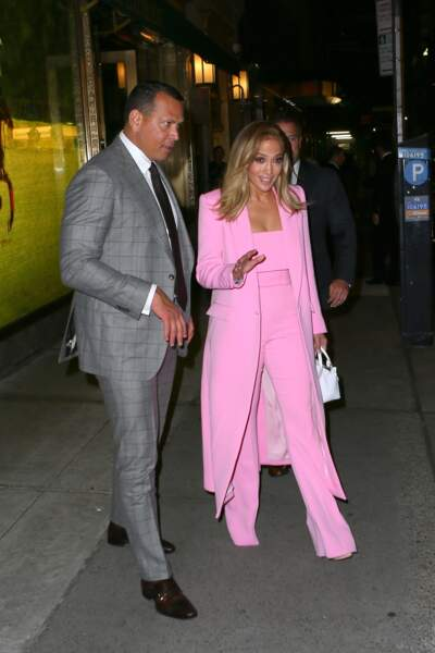 Jennifer Lopez était ravissant ce lundi 9 septembre à New York