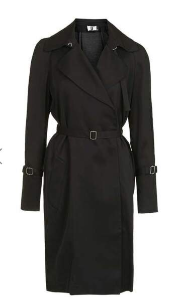 Robe chemise façon trench, TOPSHOP (180 €)