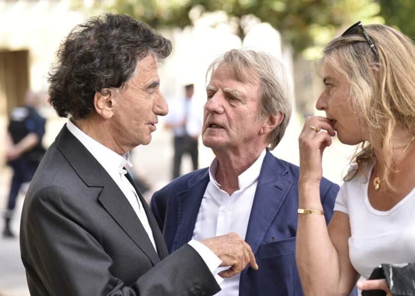 Jack Lang et Bernard Kouchner étaient présents aux funérailles de Claude Lanzmann
