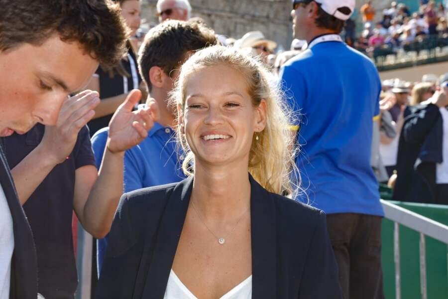 Elle étai déjà présente au Monte-Carlo Rolex Masters à Monaco en avril dernier par exemple.