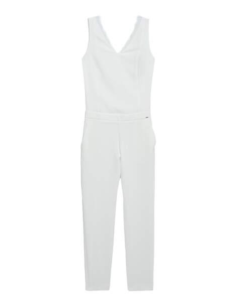 Minimaliste, combinaison pantalon Ikks, 225 € (ikks.com)