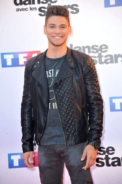 """Rayane Bensetti, vainqueur de la cinquième saison de """"Danse avec les Stars"""", diffusée sur TF1 en 2014"""