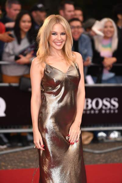 La chanteuse australienne Kylie Minogue a fêté ses 50 ans le 28 mai 2018