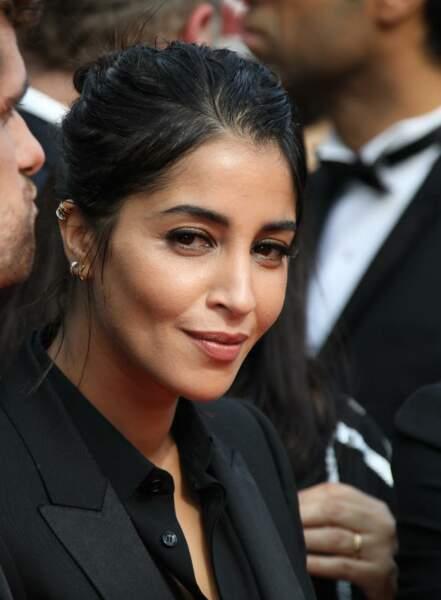 Regard de braise et teint mat pour Leila Bekhti