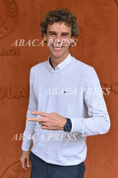 La légende du tennis Gustavo Kuerten était à Roland Garros le 8 juin 2019
