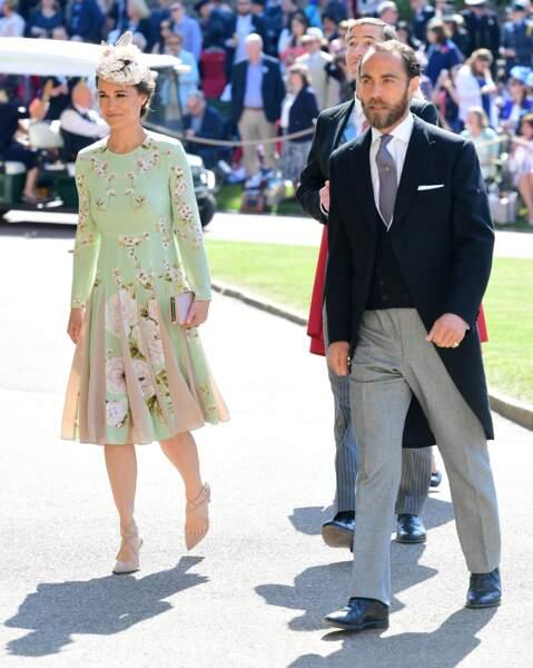 Pippa Middleton très élégante