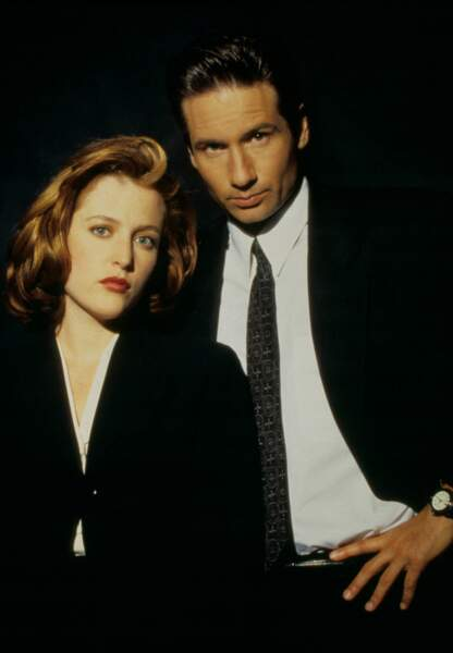 Scully et Mulder dans X-Files