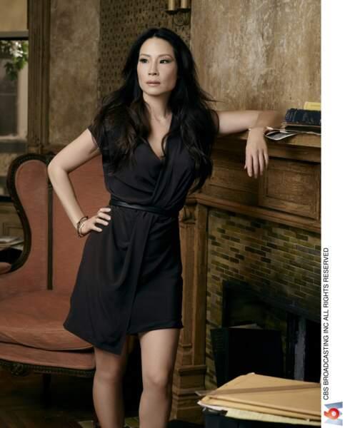 """Lucy Liu (50 ans), star de la série """"Elementary"""" (M6)"""