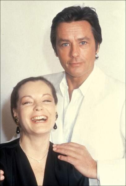 Alain Delon et Romy Schneider