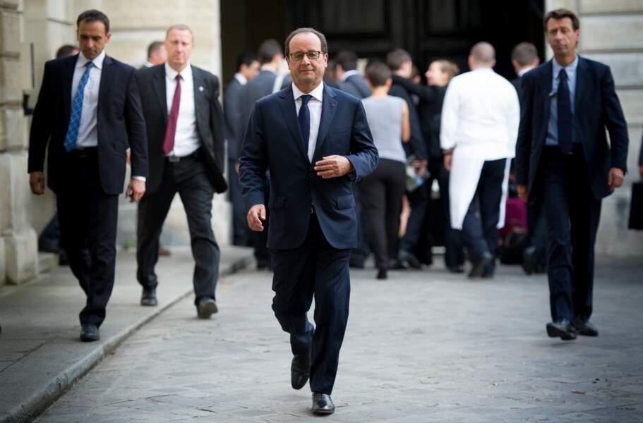 2014 : arrivée de François Hollande à l'Elysée