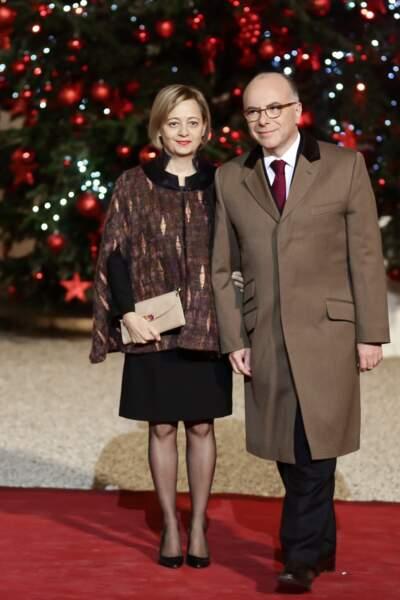Le président de la République a reçu le premier ministre et sa femme le 20 décembre à l'Elysée