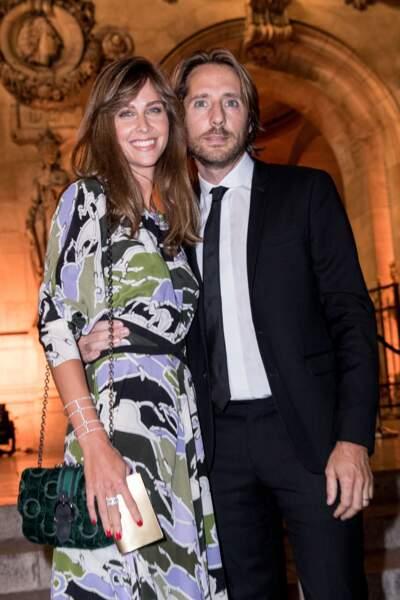 Ophélie Meunier et son mari Mathieu Vergne
