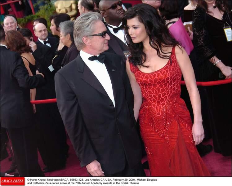 Le couple, complice sur le tapis rouge (2004)