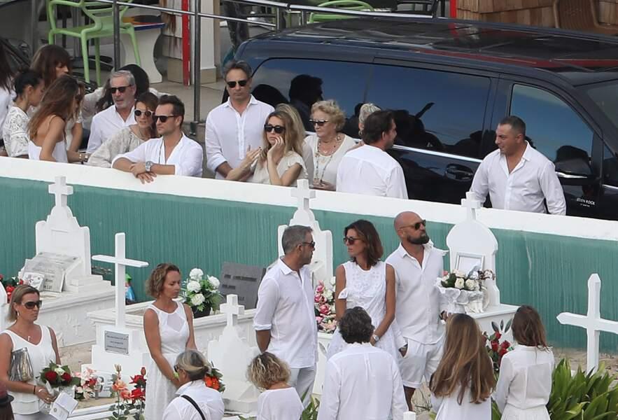 Enterrement Johnny Hallyday à Saint Barth