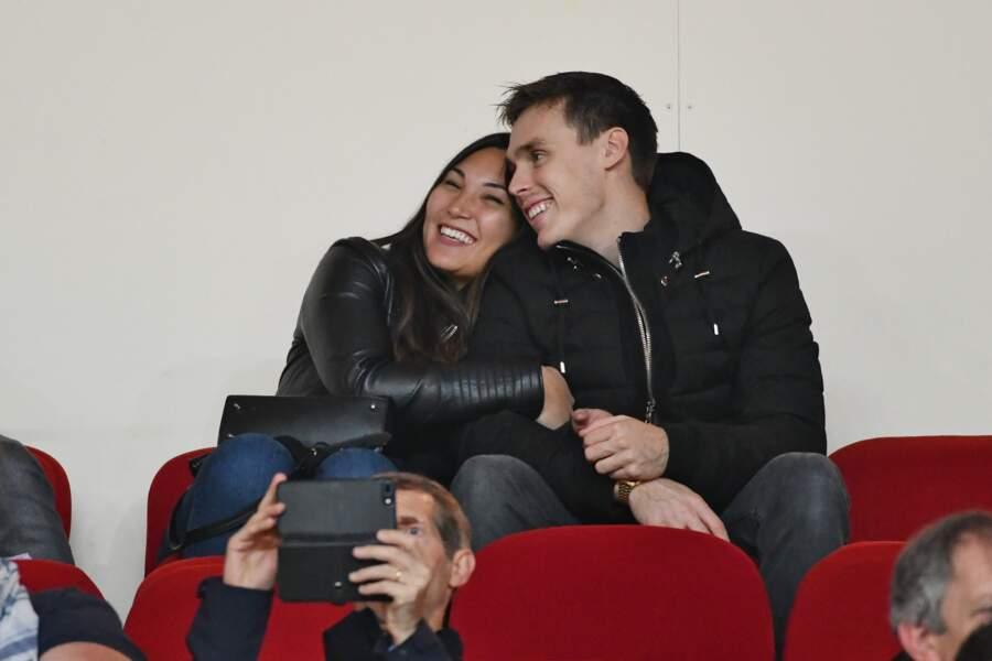 Louis Ducruet et sa fiancée Marie sont toujours amoureux à Monaco le 11 novembre 2018