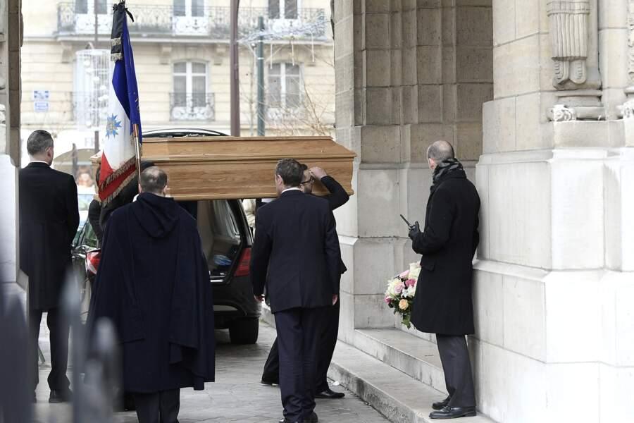 Obsèques de Michèle Morgan