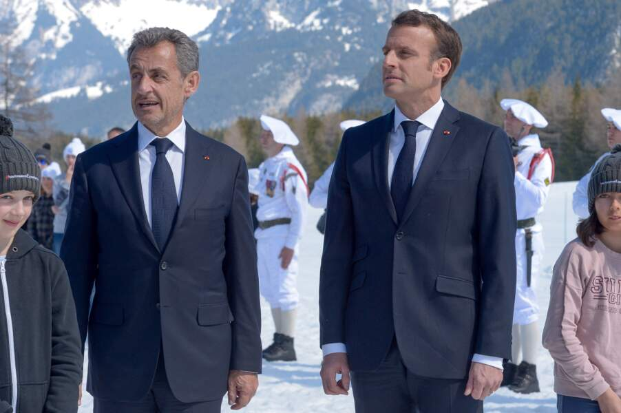 Nicolas Sarkozy a retrouvé Emmanuel Macron en Haute-Savoie ce dimanche 31 mars