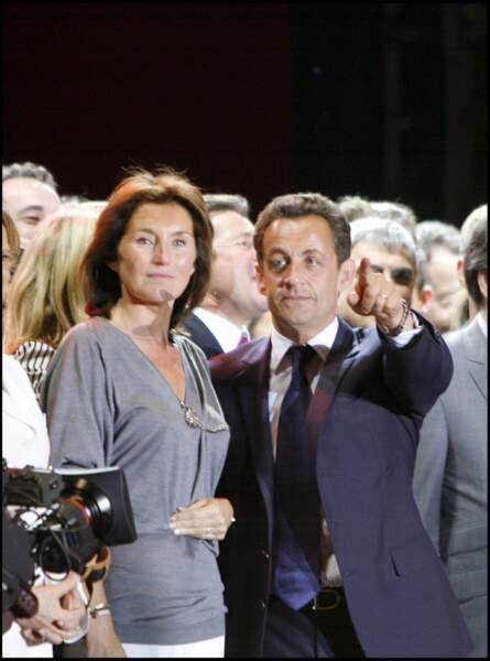 Nicolas Sarkozy et Cécilia Attias ont divorcé en 2007.